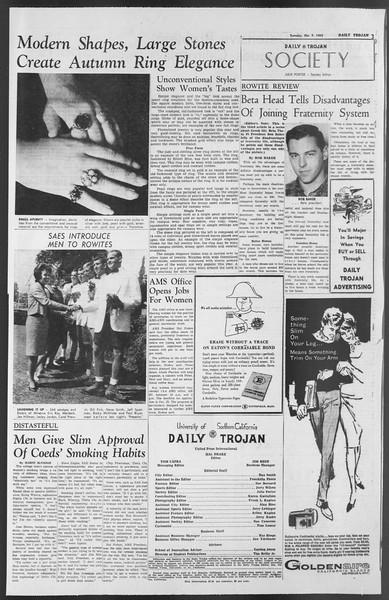 Daily Trojan, Vol. 54, No. 12, October 09, 1962