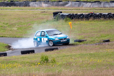 S.M.C. members at the Albar Kames Trophy Rally Time Trial (18th of July 2010)