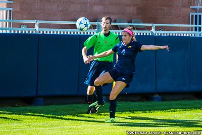 1st Half - UM Women's Soccer Vs Ohio State Ex. 8-12-15