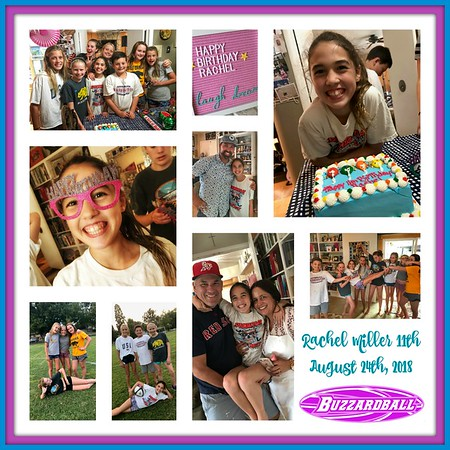 AUGUST 24TH, 2018 | Rachel Miller 11th Birthday