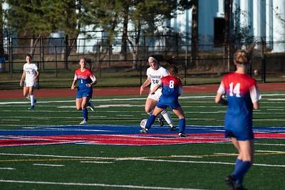 shs girls soccer vs Wash Twp 112020