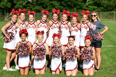 Cheerleaders vs HSE 08.23.2017