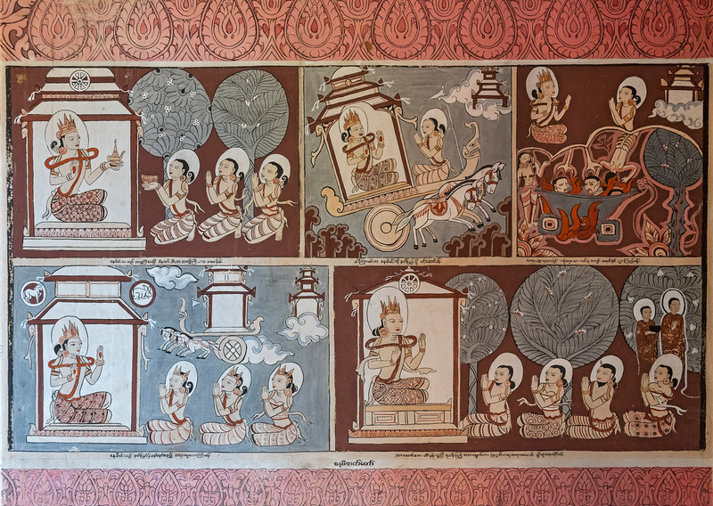 Mural paintings, Bagan