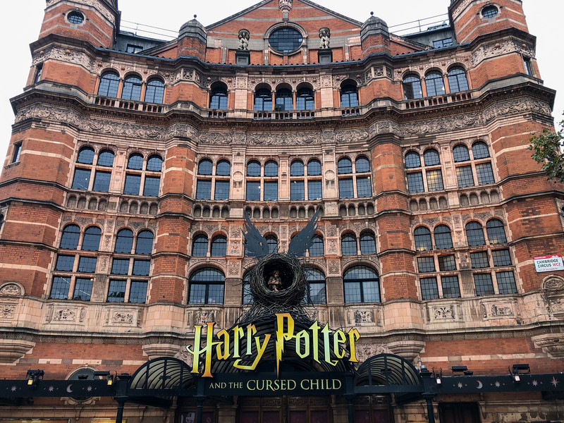 Harry Potter and the Cursed Child theater in London