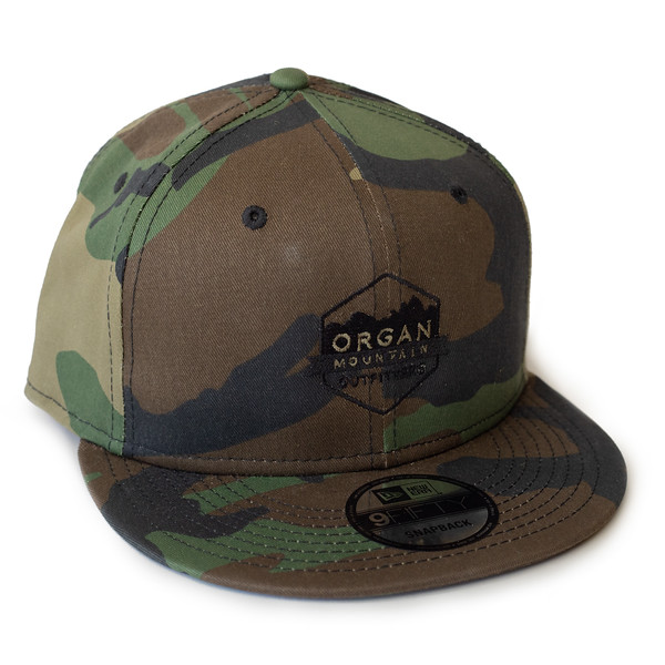 Outdoor Apparel - Organ Mountain Outfitters - Hat - New Era Classic Flat Bill Snapback Cap - Camo.jpg