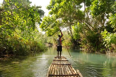 White River Rafting/Ocho Rios/Jamaica - Nov., 2015