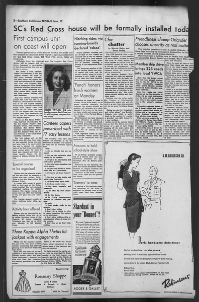 The Trojan, Vol. 35, No. 49, November 12, 1943