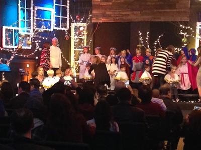 seamus' preschool (ECLC) Christmas program: 12/11/15