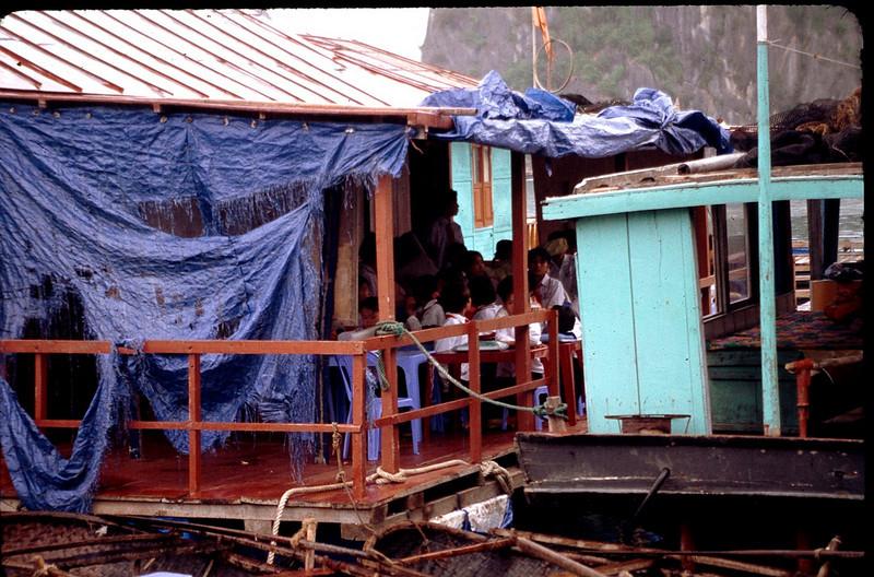 school on houseboat
