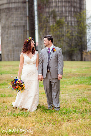 Adrienne & Trey's Wedding :: The Barn at Lloyd's Dairy :: AO&JO Photography & Videography (Raleigh Wedding Photographer)