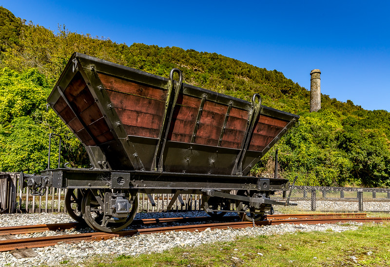 «Brunner Industrial Site» (Kohlebergbau): Kohletransportwagen