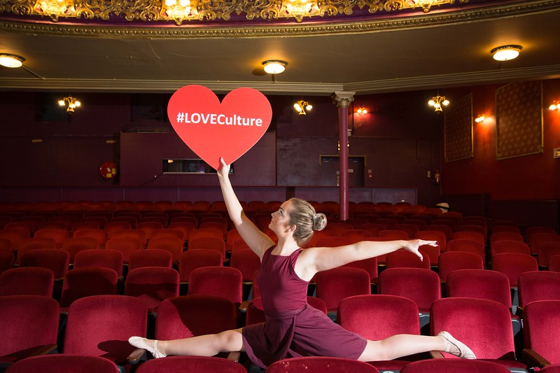 Ballerina Emily Hayes, Nickys Dance Studio in the Everyman Theatre for the official launch of Cork Culture Night 2017. Culture Night is one of the highlights of the Cork City arts and culture calendar and an opportunity for various venues and organisations to showcase their city – which is steeped in rich culture and heritage. Picture Darragh Kane