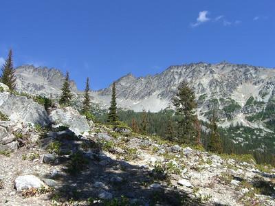 Leroy Creek Basin / Mt Maude August 2007