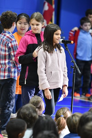 """Fourth Graders Present Dr. King's """"I Have a Dream"""" Speech"""