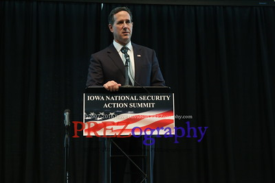 Rick Santorum Security Action Summit