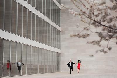 Joy + Nicolae // Washington, D.C Engagement