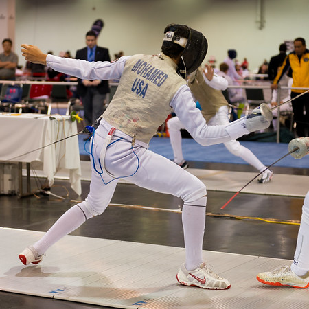 Yaseen Mohammed Fencing 10-15-17
