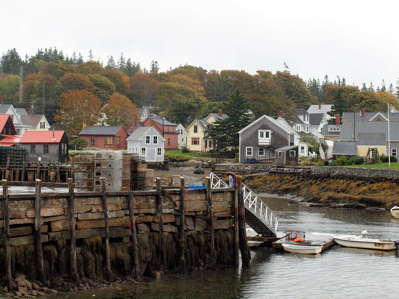 Another view from our balcony in Vinalhaven