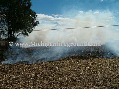 10/19/05 - Delhi Twp field fire, 2447 W. Holt Rd