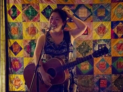 Betty Soo at Saxapahaw, NC June 4 2017