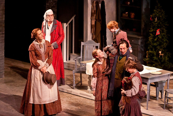 Cratchit Family with Kate Fahey