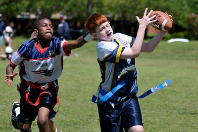 2009 spring Flag Football—Chargers