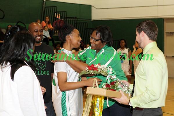 Suwannee Basketball 2014-15 - Seniors