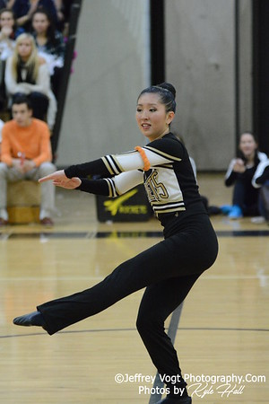 1-09-2016 Richard Montgomery HS Varsity Poms at Northwest HS, Photos by Jeffrey Vogt Photography with Kyle Hall