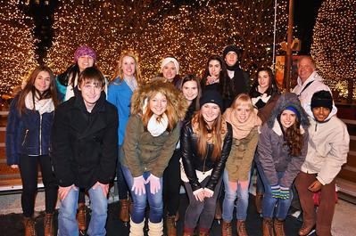 2013 Ice Skating and Christmas Gift Exchange