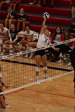 Varsity Volleyball - Norris Invite, 9-11-2021