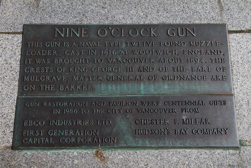 Nine O'Clock Gun