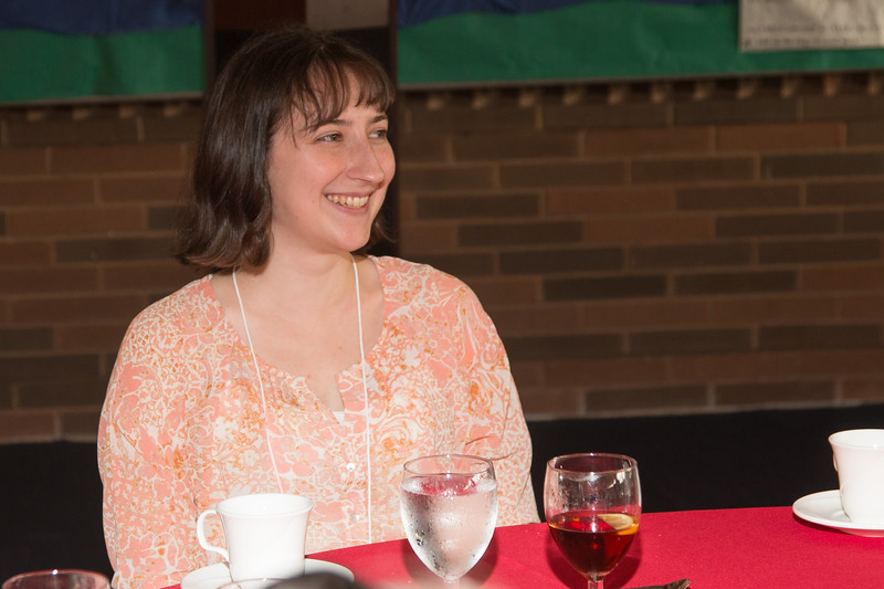 """Emily Sobel (2015 Scholar) -- An award luncheon, """"Dr. John Mather Nobel Scholars Program Award"""", as part of the National Space Grant Foundation. College Park Aviation Museum, College Park, MD, August 2, 2019."""