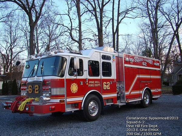 Pine Hill Fire Department - Squad 62