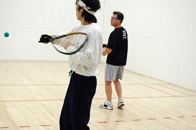 2007-02-10 Saturday Jeff Wagner (black shirt) and Kurt Chen (headband)  (Men's 40+)