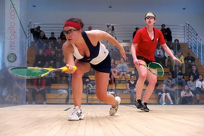 2011-03-06 Pamela Hathway (Trinity) and Jackie Moss (Princeton)