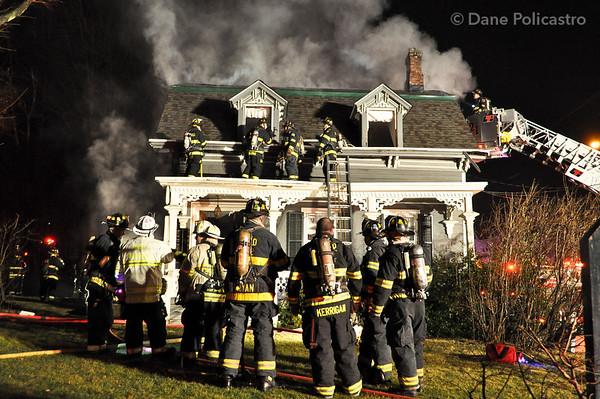 1-27-12 Oradell, NJ 3rd Alarm: 465 New Milford Avenue