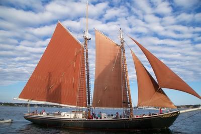 Schooner Adventure Heritage Sail 2018-09-01