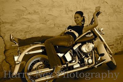 Models on Harley