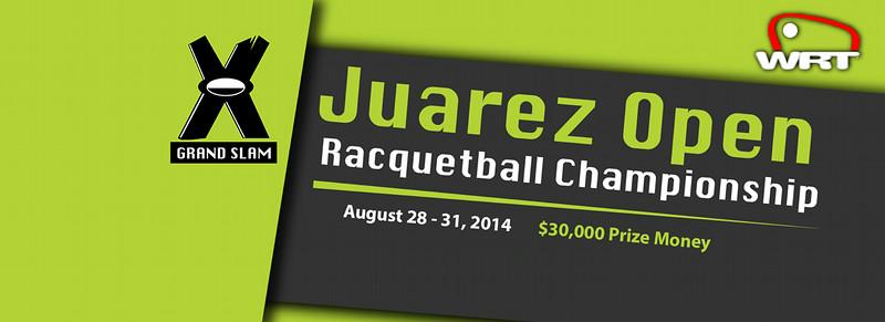 Grand Slam WRT Juárez Open organizado por UNIDE en el Deportivo San Ángel en Cd. Juárez, Chihuahua, México.