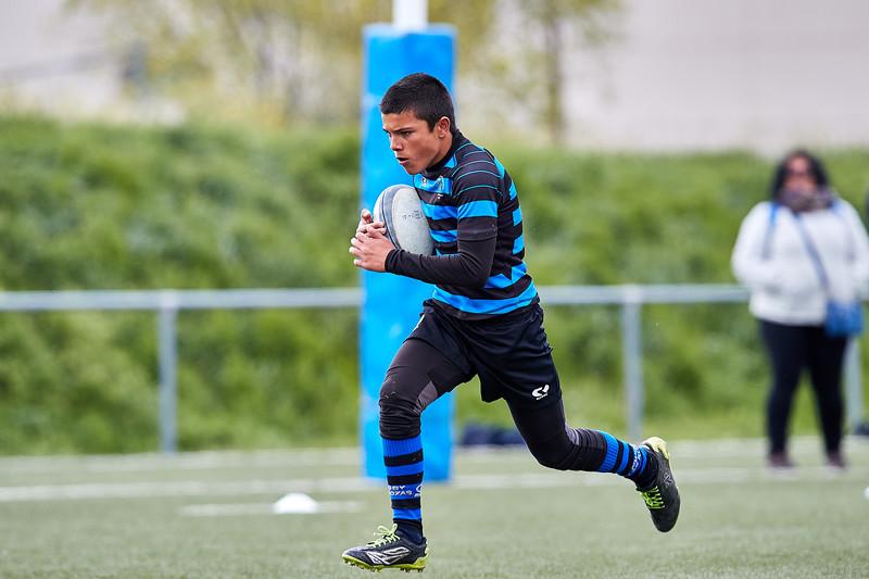URO Rugby Alcorcón Amarillo vs Industriales Azul: 0-30