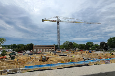 SSM Health Building Going Up - Fish Hatchery Rd -  Fall 2020 - Madison, WI