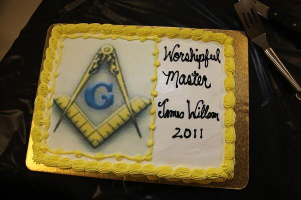 Moreno Valley Lodge 50th Officer Installation 2010