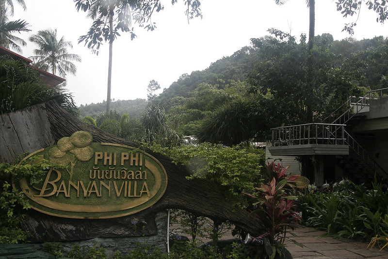Banyan Villa - our hotel on Phi Phi