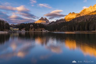 Around Cortina and Badia