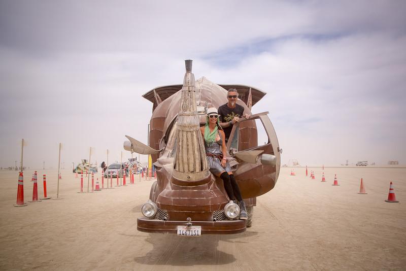 Rhino Redemption Art Car, by Kevin Clark