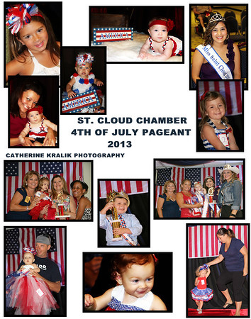 ST.CLOUD CHAMBER 4TH OF JULY PAGEANT 2013