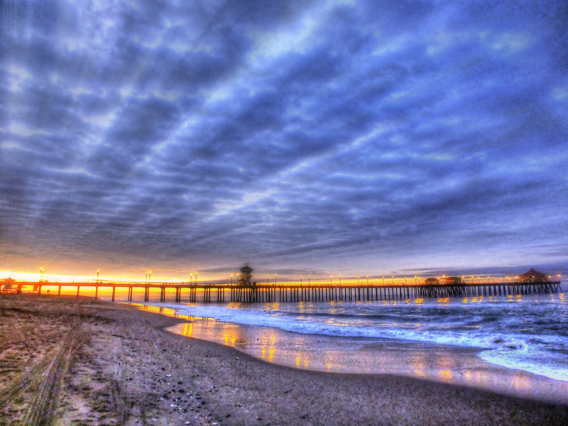 A Heavenly Morning At The Huntington Beach Pier.jpg