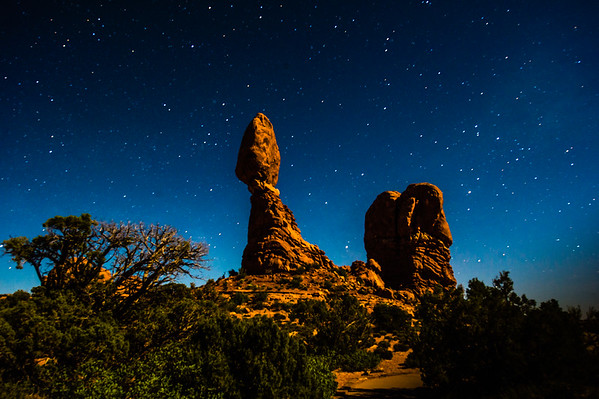 Arches NP at Night