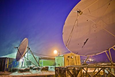 Arctic telecommunications. Selawik, AK