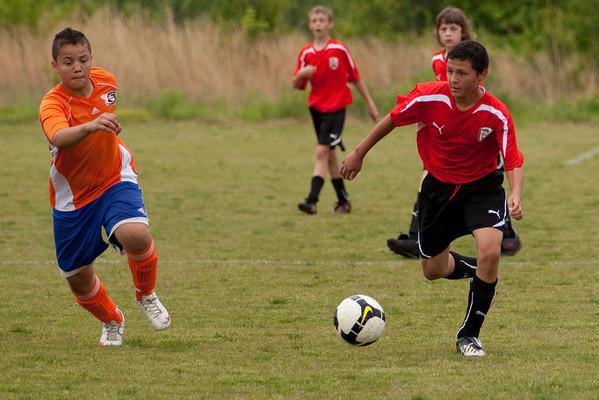 U-13 Spring Season 2010/ Tanner's Team